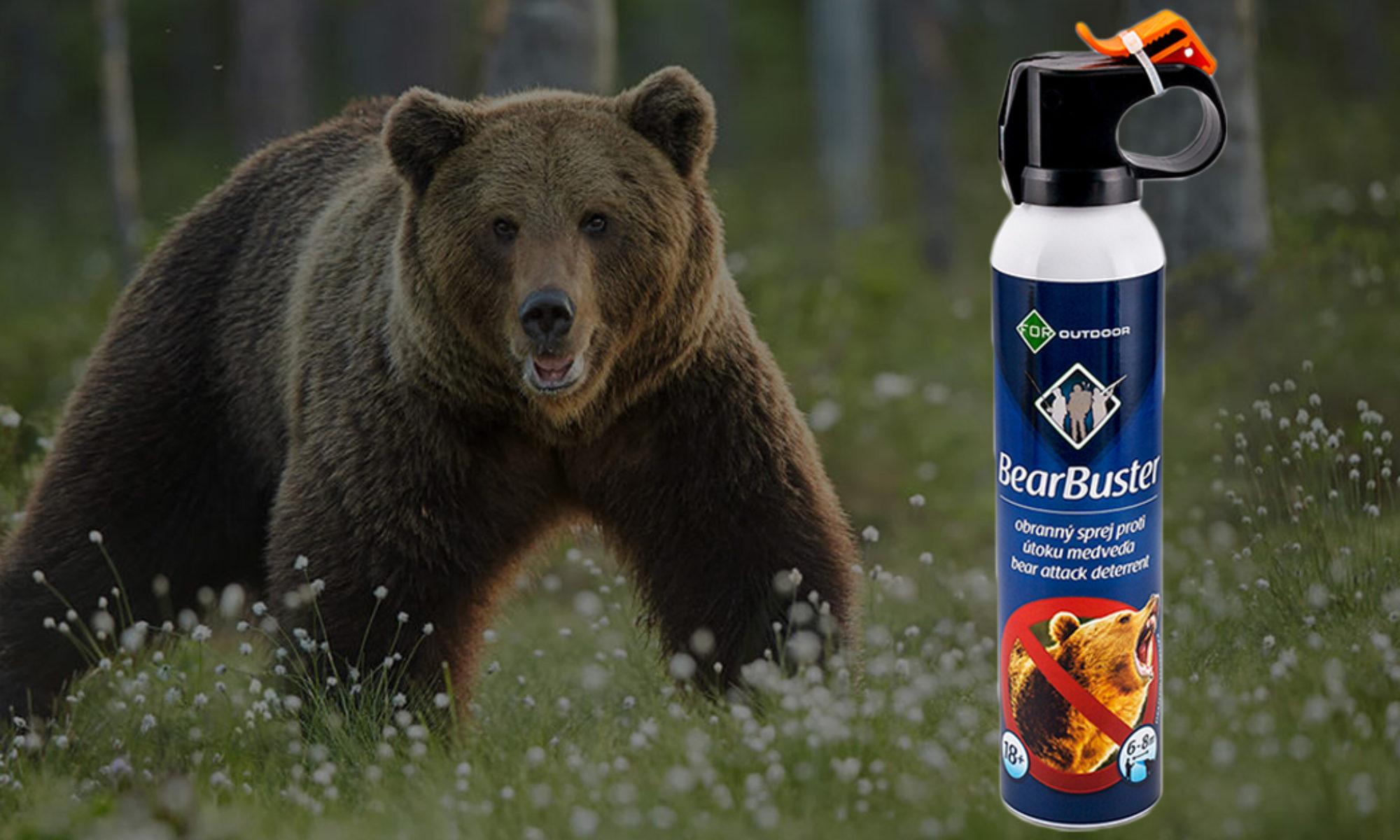 Sprej Proti Medveďom